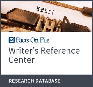 Infobase: Writer's Reference Center